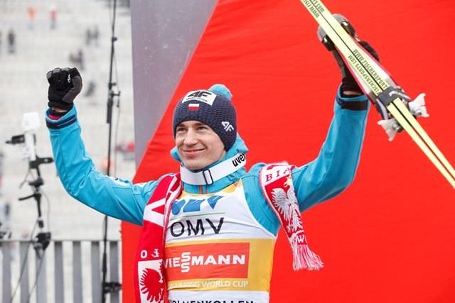 Kamil Stoch /Terje Bendiksby /PAP/EPA