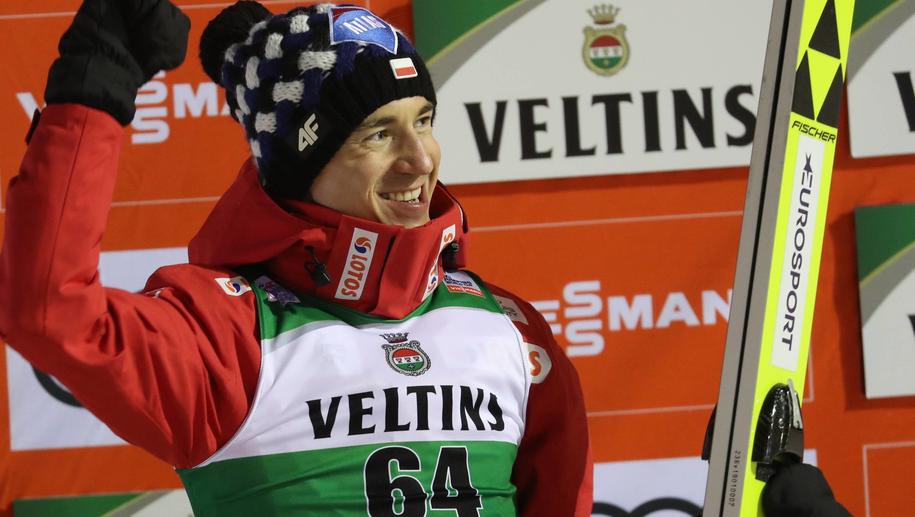 Kamil Stoch / Grzegorz Momot    /PAP