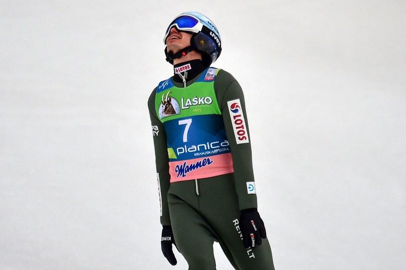 Kamil Stoch /AFP/AFP JURE MAKOVEC/Jure Makovec /AFP