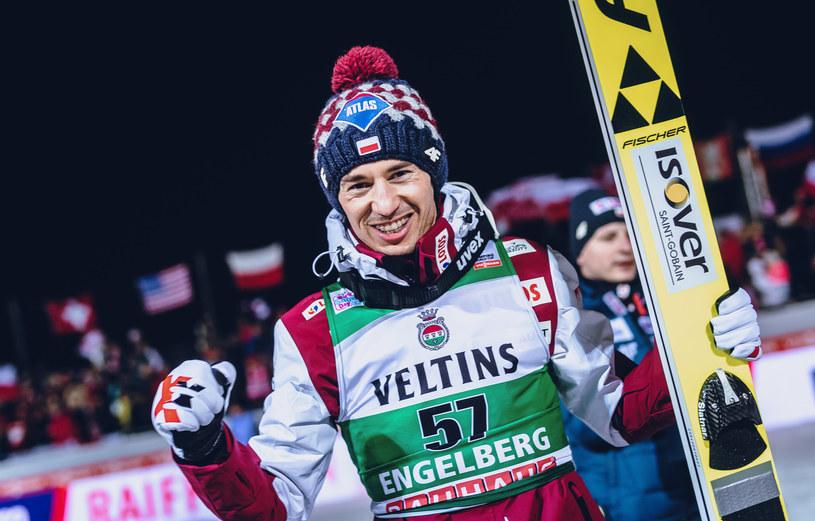 Kamil Stoch /EIBNER/Heike_Feiner /Agencja FORUM