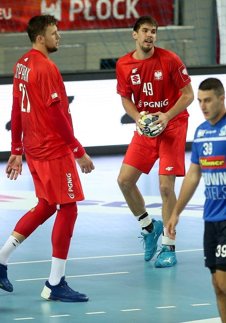 Kamil Syprzak (L) i Piotr Chrapkowski /Piotr Augustyniak /PAP