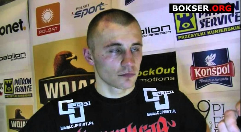 Kamil Szeremeta. /bokser.org