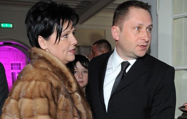 Kamil z żoną /- /MWMedia
