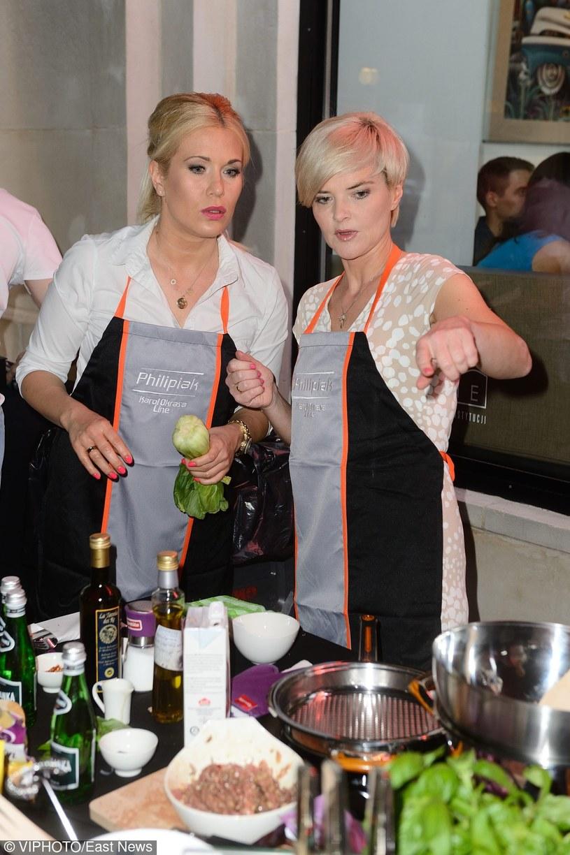 Kamila Biedrzycka Osicia i Monika Zamachowska /- /East News
