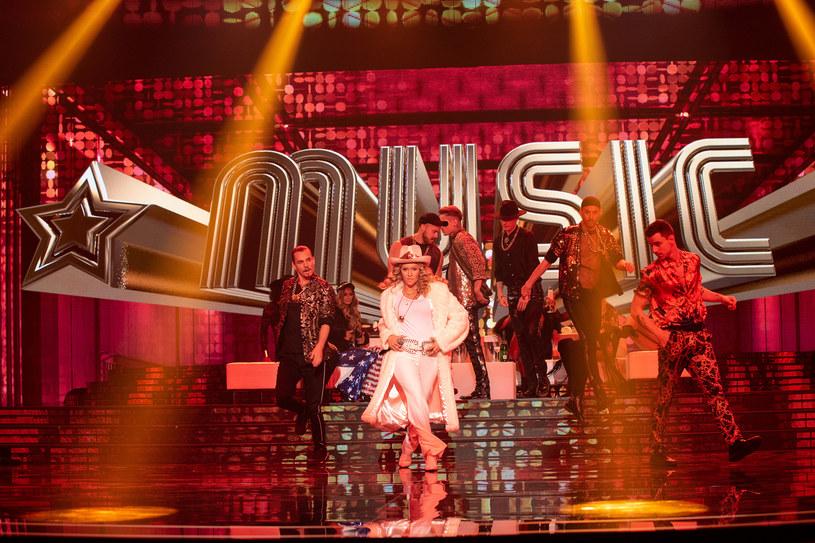 Kamila Boruta jako Madonna /Polsat /Polsat