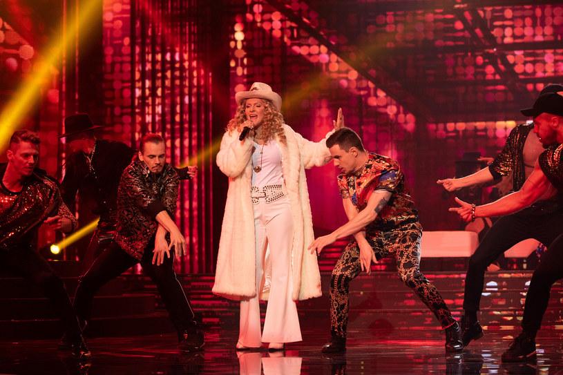 Kamila Boruta jako Madonna /M. Zawada /Polsat