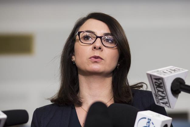 Kamila Gasiuk-Pihowicz, szefowa klubu Nowoczesnej. Fot. Andrzej Hulimka /Reporter