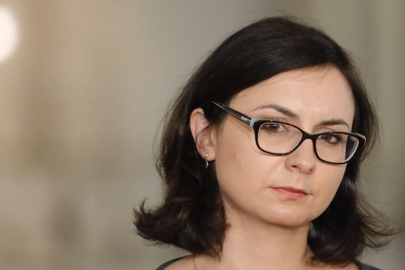 Kamila Gasiuk-Pihowicz: Wyrok TSUE to jasny sygnał, że zmiany dokonane w sądownictwie są niezgodne z prawem UE /Grzegorz Banaszak /Reporter
