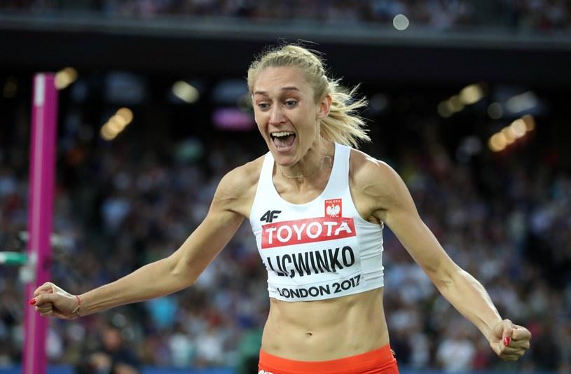Kamila Lićwinko wywalczyła brązowy medal w skoku wzwyż /PAP/EPA