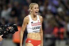 Kamila Lićwinko zdobyła brązowy medal w skoku wzwyż!