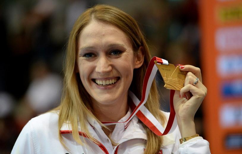 Kamila Lićwinko zdobyła w Sopocie złoty medal /Fot. Bartłomiej Zborowski /PAP