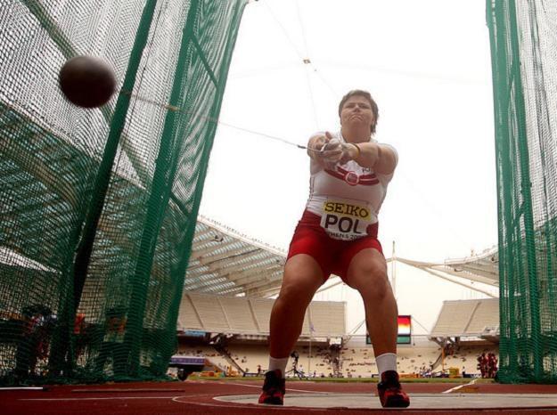 Kamila Skolimowska była jedną z najlepszych polskich lekkoatletek /AFP