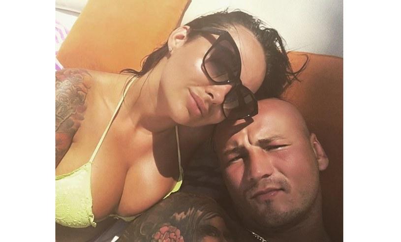 Kamila Wybrańczyk i Artur Szpilka /Instagram