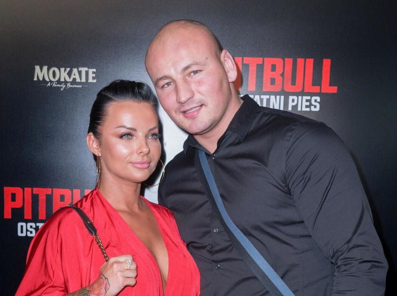 Kamila Wybrańczyk i Artur Szpilka /Fot. Artur Zawadzki/Reporter /East News
