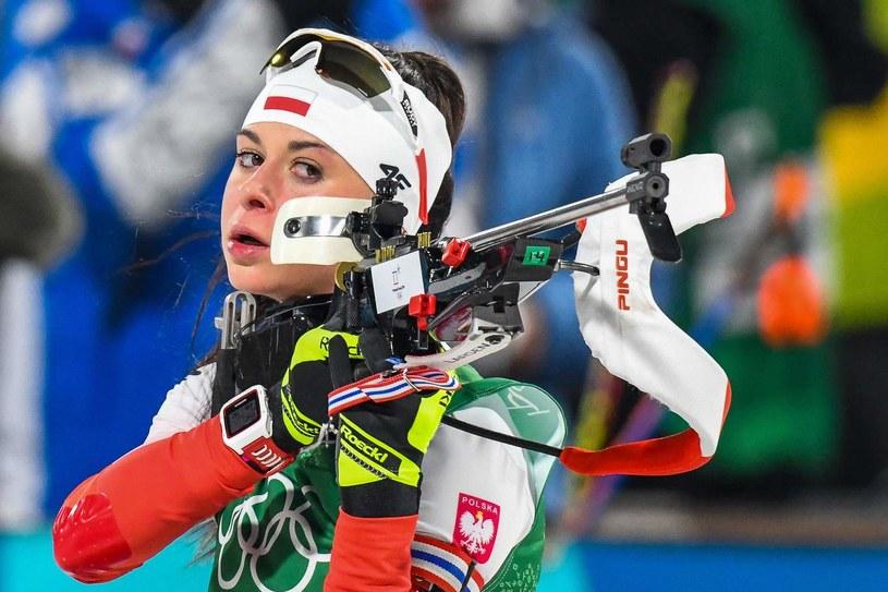 Kamila Żuk jest naszą wielką nadzieją na najbliższe lata /AFP