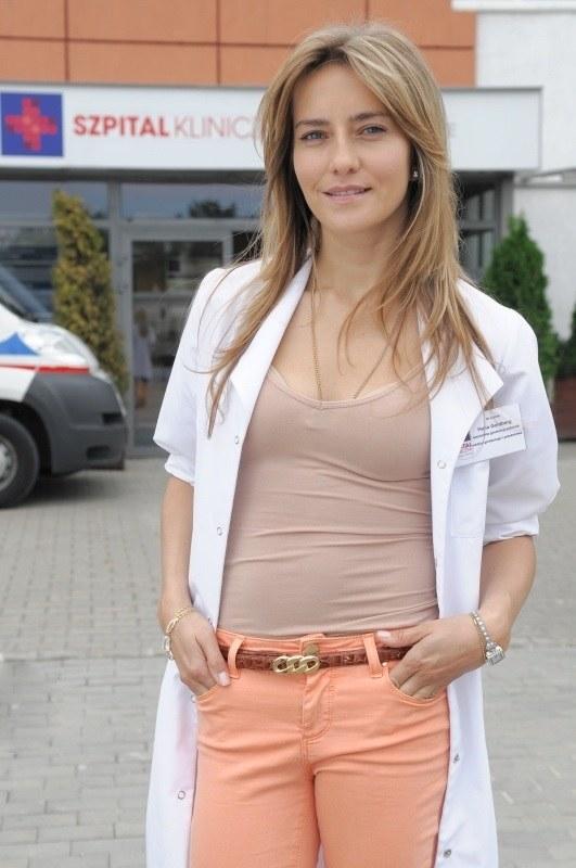 Kamilla Baar zagra główną rolę w nowym serialu medycznym /Agencja W. Impact