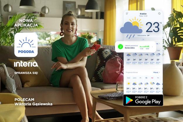 Kampania aplikacji Pogoda Interia /Interia.pl /INTERIA.PL