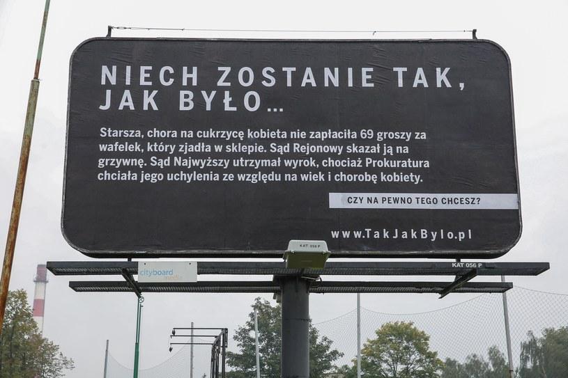 Kampania billboardowa PFN /Tomasz Kawka /East News