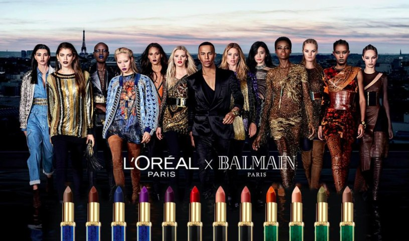 Kampania L'Oréal Paris X Balmain /materiały prasowe