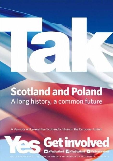 """Kampania polityczna """"Yes, Scotland"""" /Emito.net /"""