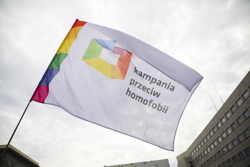 Kampania przeciw homofobii; zdj. ilustracyjne /Beata Zawrzel /Reporter