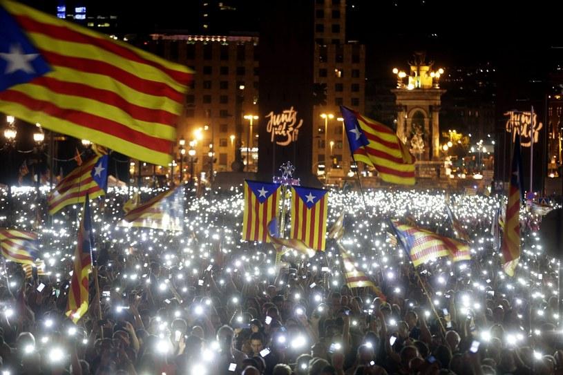 Kampania przed wyborami w Katalonii /ALBERTO ESTEVEZ /PAP/EPA