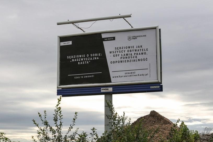 """Kampania """"Sprawiedliwe Sądy"""" /Tomasz Kawka /East News"""