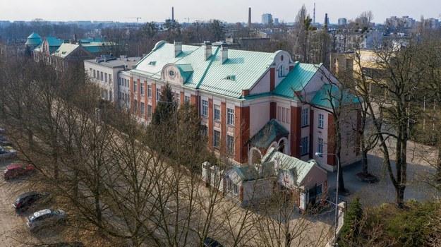 Kampus Szkoły Filmowej w Łodzi /Grzegorz Michałowski /PAP