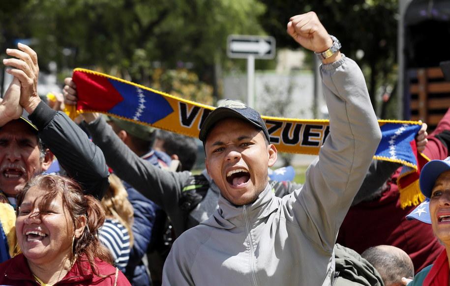 Kanada chce natychmiastowych konsultacji Grupy z Limy ws. Wenezueli /Mauricio Duenas Castaneda /PAP/EPA
