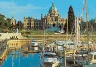 Kanada, Wiktoria, parlament i przystań jachtowa /Encyklopedia Internautica