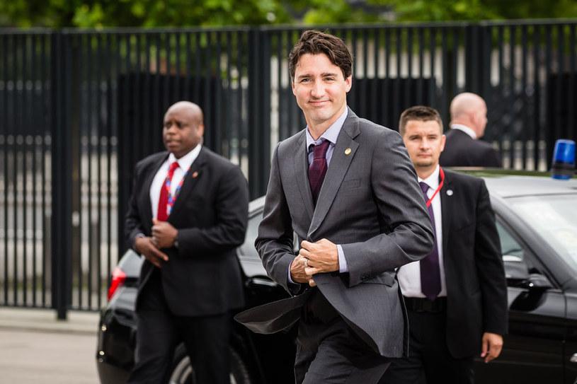 Kanadyjski premier Justin Trudeau na razie odwołał swoją podróż do Europy /AFP