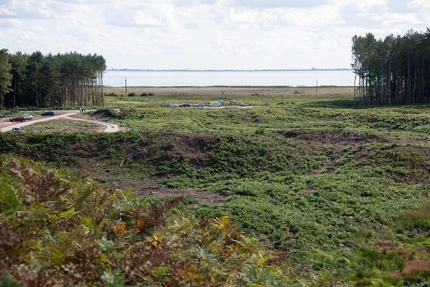 Kanał żeglugowy przez Mierzeję Wiślaną ma mieć około 1 km długości /fot. Wojciech Strozyk /Reporter