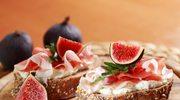 Kanapki z kozim serem i figą
