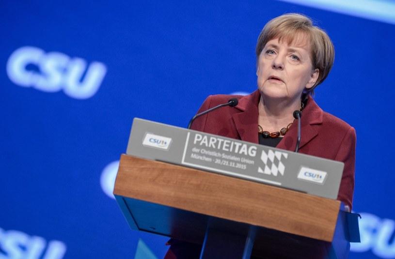 Kanclerz Angela Merkel /MATTHIAS BALK /PAP/EPA