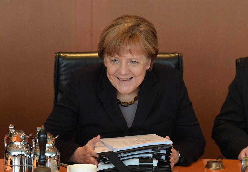Kanclerz Angela Merkel /TOBIAS SCHWARZ /AFP