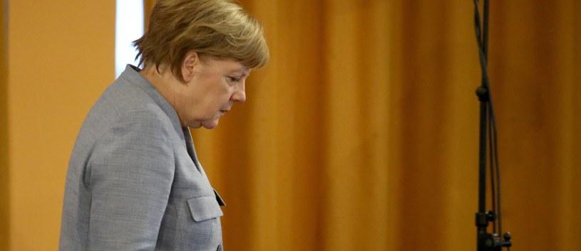 Kanclerz Angela Merkel /FOCKE STRANGMANN /PAP/EPA
