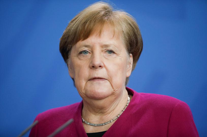 Kanclerz Angela Merkel /Markus Schreiber /AFP