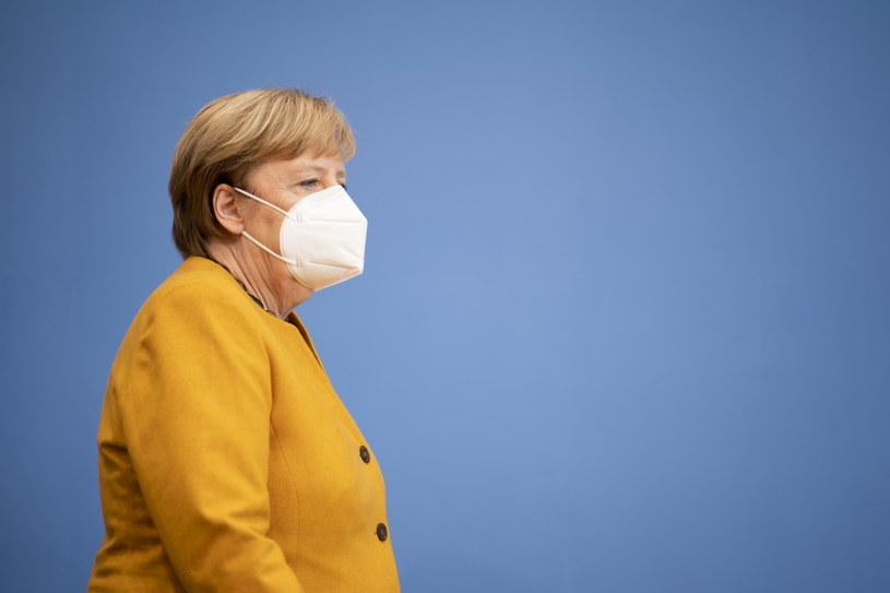 Kanclerz Angela Merkel /HENNING SCHACHT /PAP/EPA