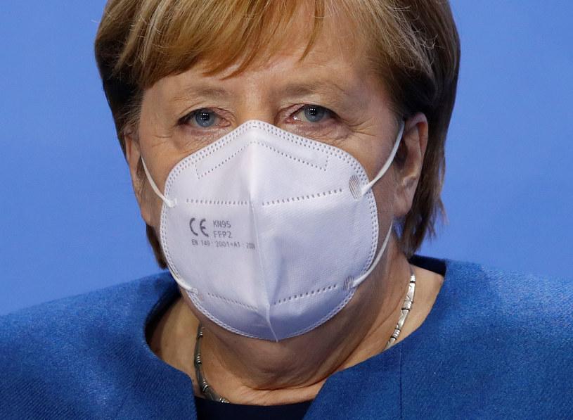 Kanclerz Angela Merkel /Fabrizio Bensch /AFP