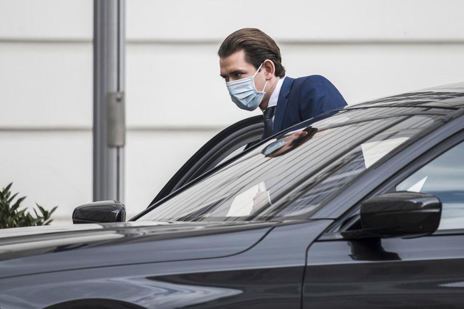 Kanclerz Austrii Sebastian Kurz /CHRISTIAN BRUNA /PAP/EPA