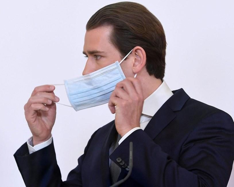 Kanclerz Austrii Sebastian Kurz /AFP
