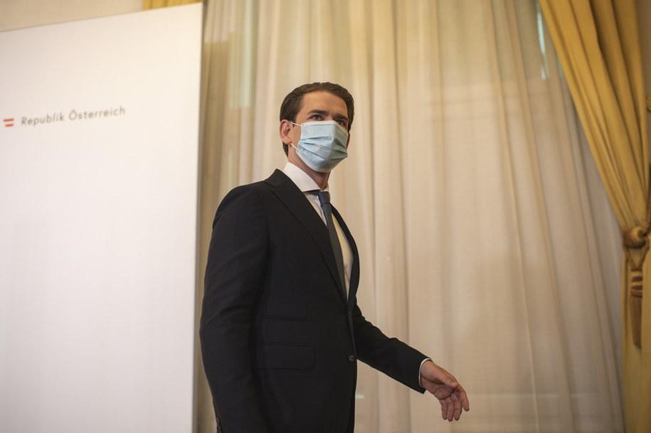 Kanclerz Kurz /CHRISTIAN BRUNA /PAP/EPA