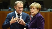 """Kanclerz Merkel bardzo sobie ceni pracę Tuska"""