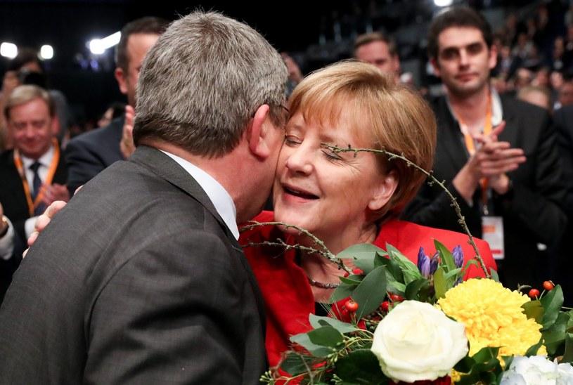 Kanclerz Merkel znów wygrała /PAP/EPA