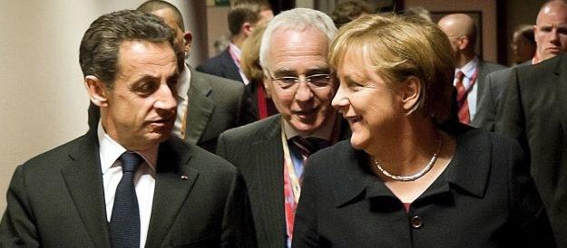 Kanclerz Niemiec Angela Merkel i prezydent Francji Nicolas Sarkozy /AFP