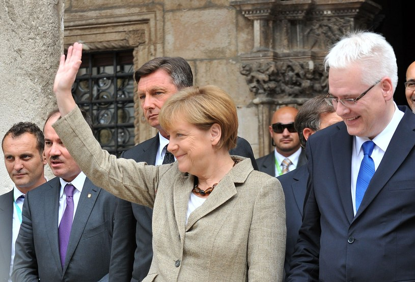 Kanclerz Niemiec Angela Merkel w Dubrowniku /AFP