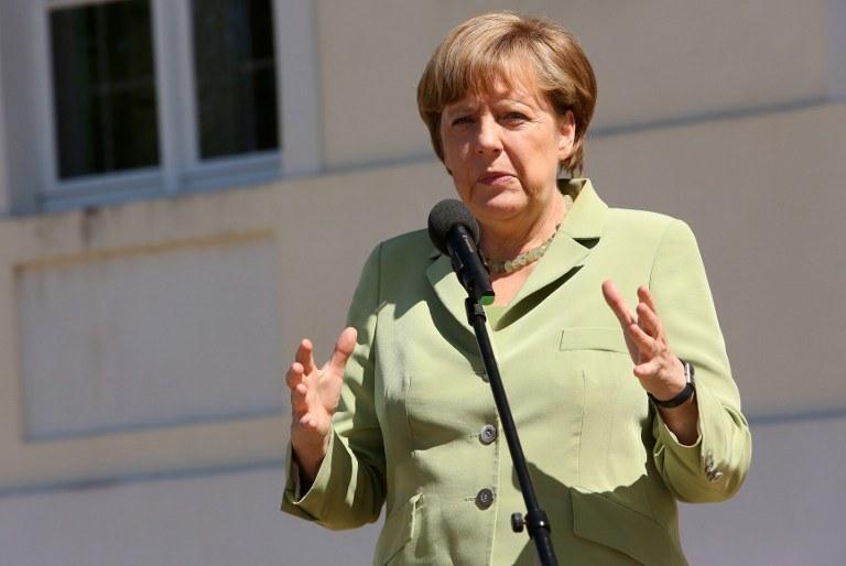 Kanclerz Niemiec Angela Merkel /Adam Berry /AFP