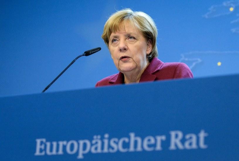 Kanclerz Niemiec Angela Merkel /PAP/EPA
