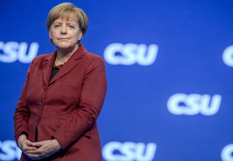 Kanclerz Niemiec Angela Merkel /MATTHIAS BALK /PAP/EPA