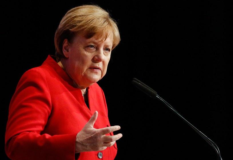 Kanclerz Niemiec Angela Merkel /FOCKE STRANGMANN /PAP/EPA